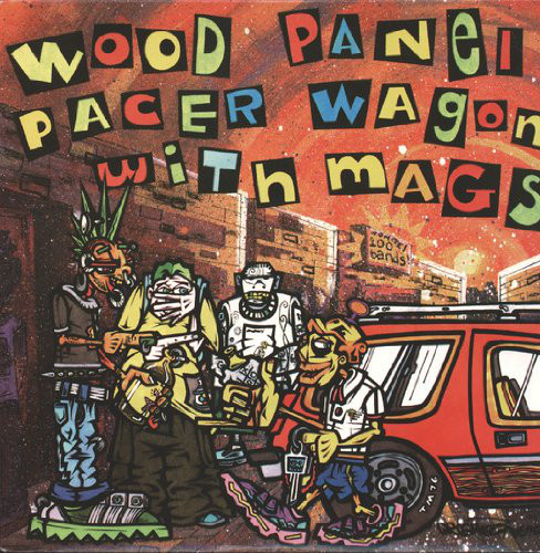 Wood Panel Pacer Wagon With Mags